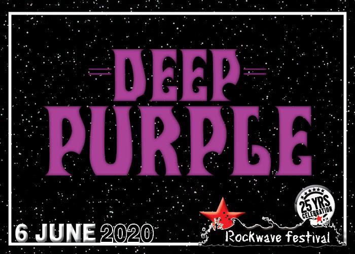 DEEP PURPLΕ rockwave 2020 wave 97.4