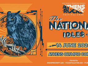 AthensRocks 2020 -The National