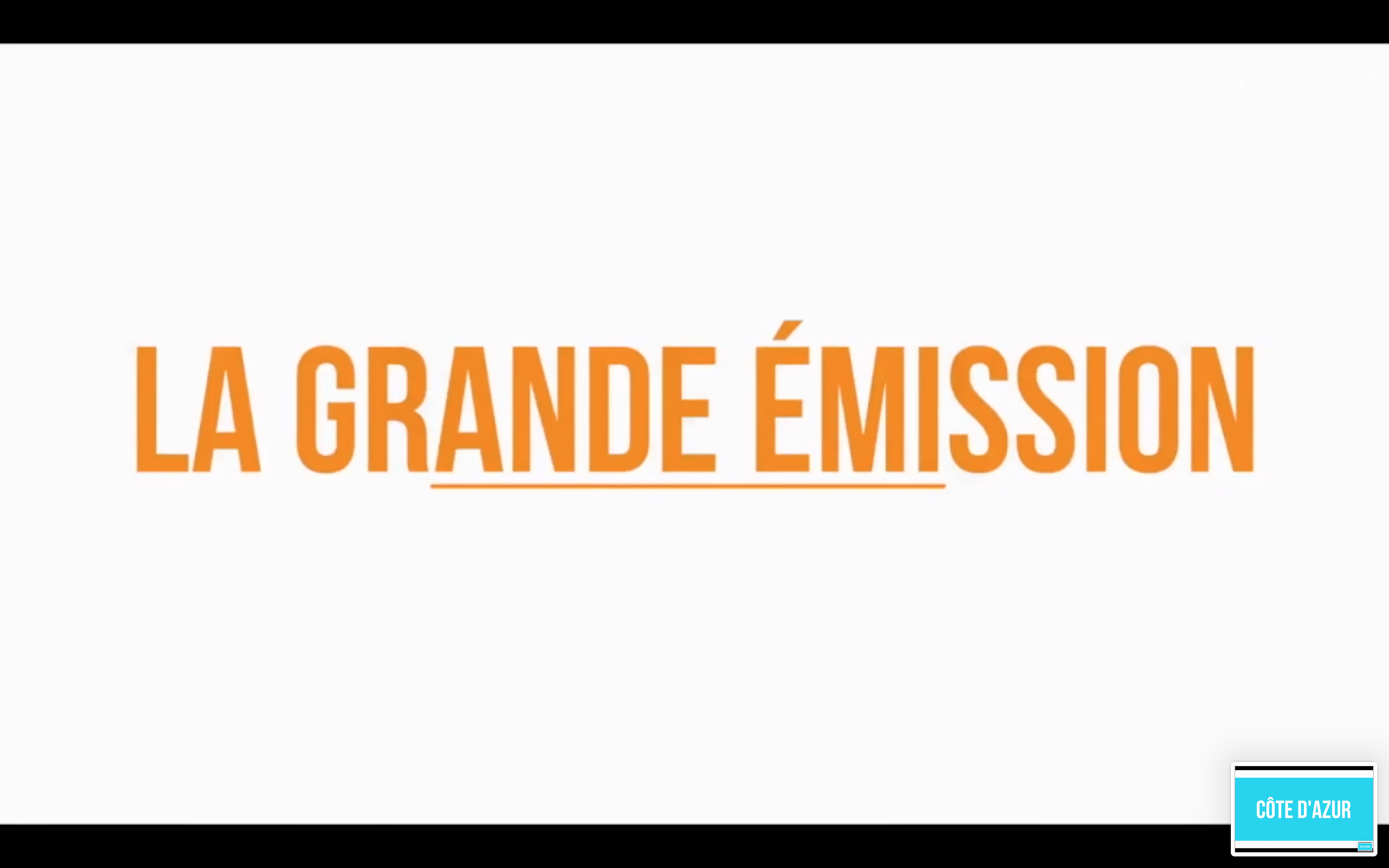 LA Grande Emission Octobre 2018