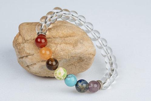 Bracelet «Cristal des 7 Chakras»
