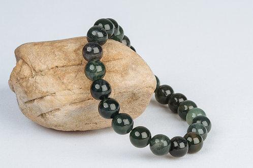 Bracelet Courage de Bouddha  - Oeil de Tigre