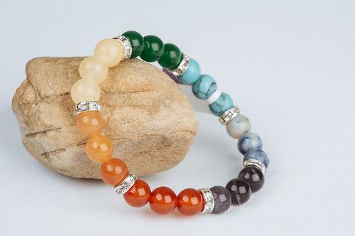 Bracelet «Les 7 chakras»