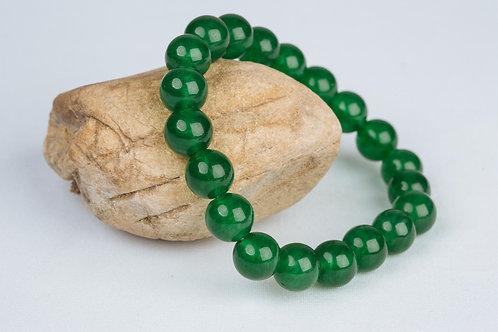 Bracelet «Tempérance» Jade Vert