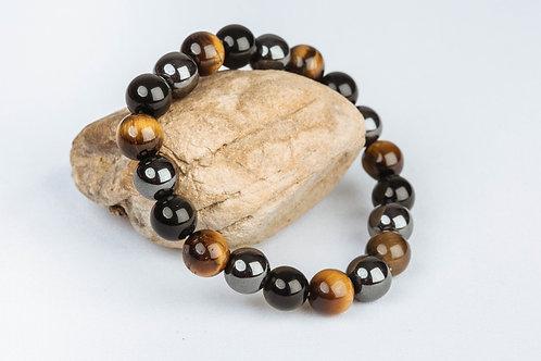 Bracelet «Protection» - 3 pierres