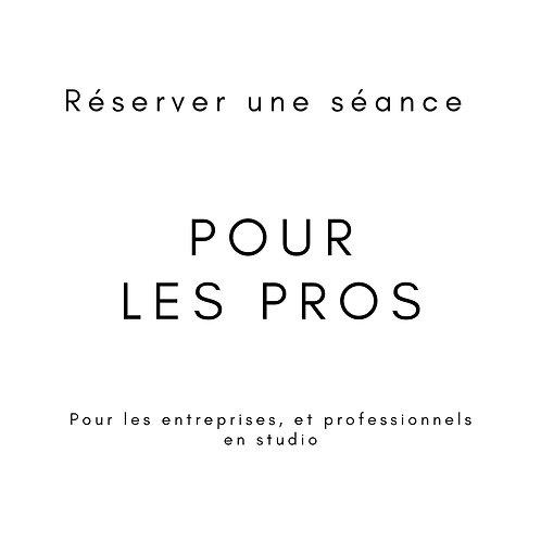 Séance Portrait Pro