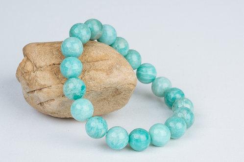 Bracelet «Détente magique» - Amazonite