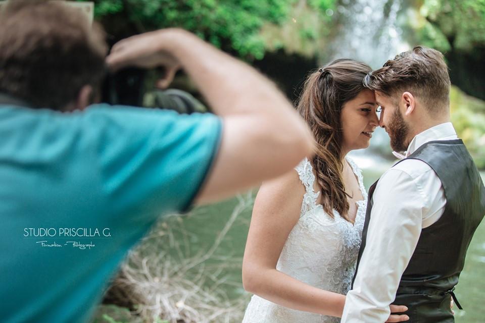 Photographe studio, mariage, Formation