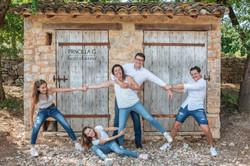 portrait famille exterieur