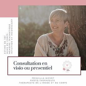 Consultation visio ou presentiel