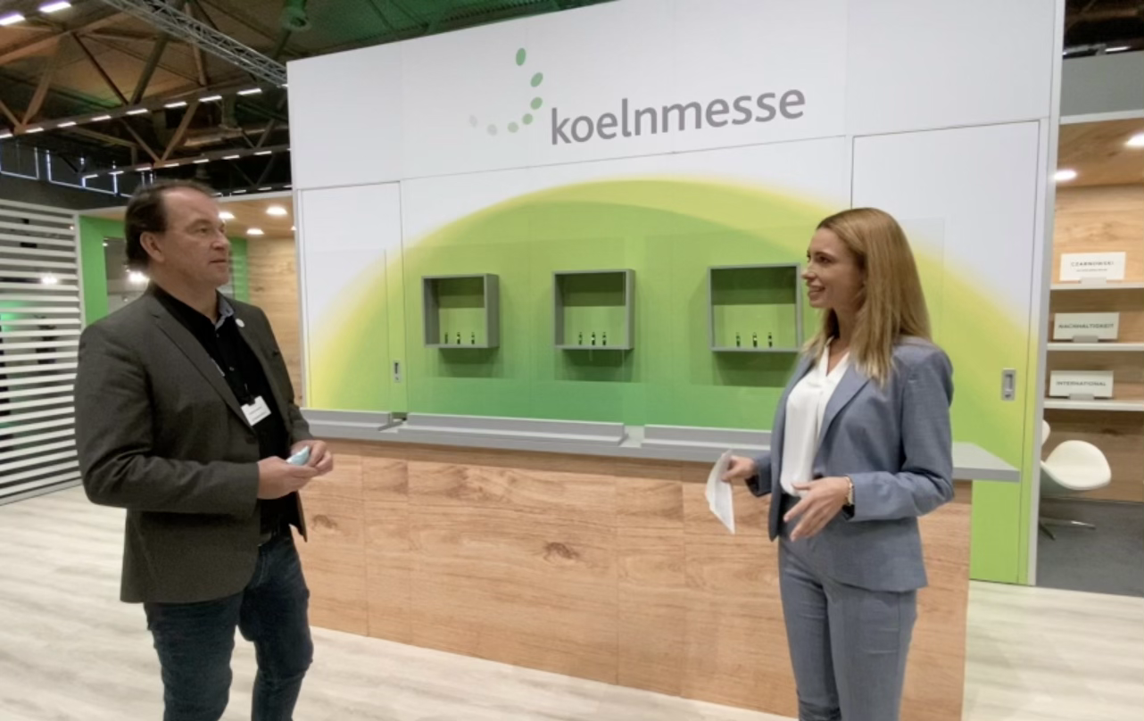 Koeln Messe - Messestand Moderation