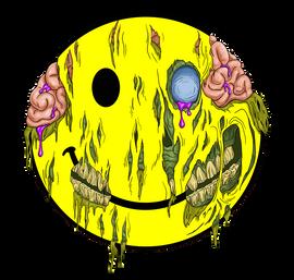 Happy Zombie Face