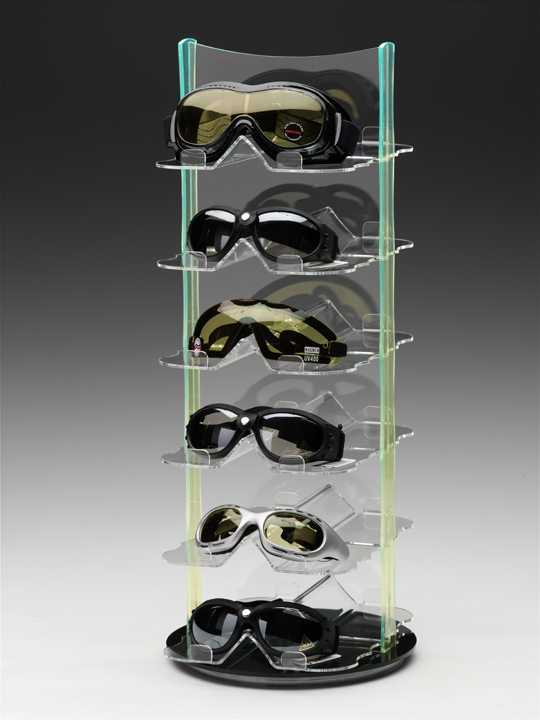 Goggle Display W Goggles