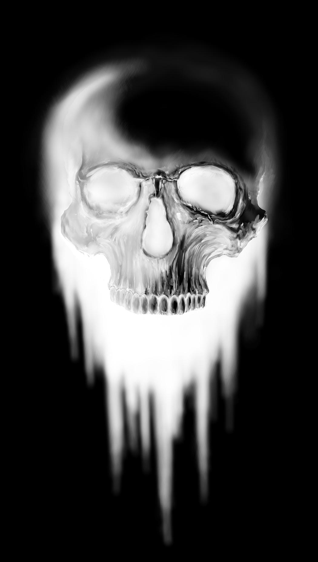 Skull inverted 2