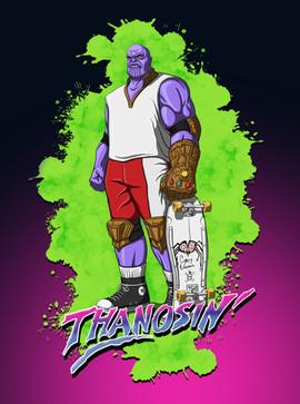 Thrashin' Thanos
