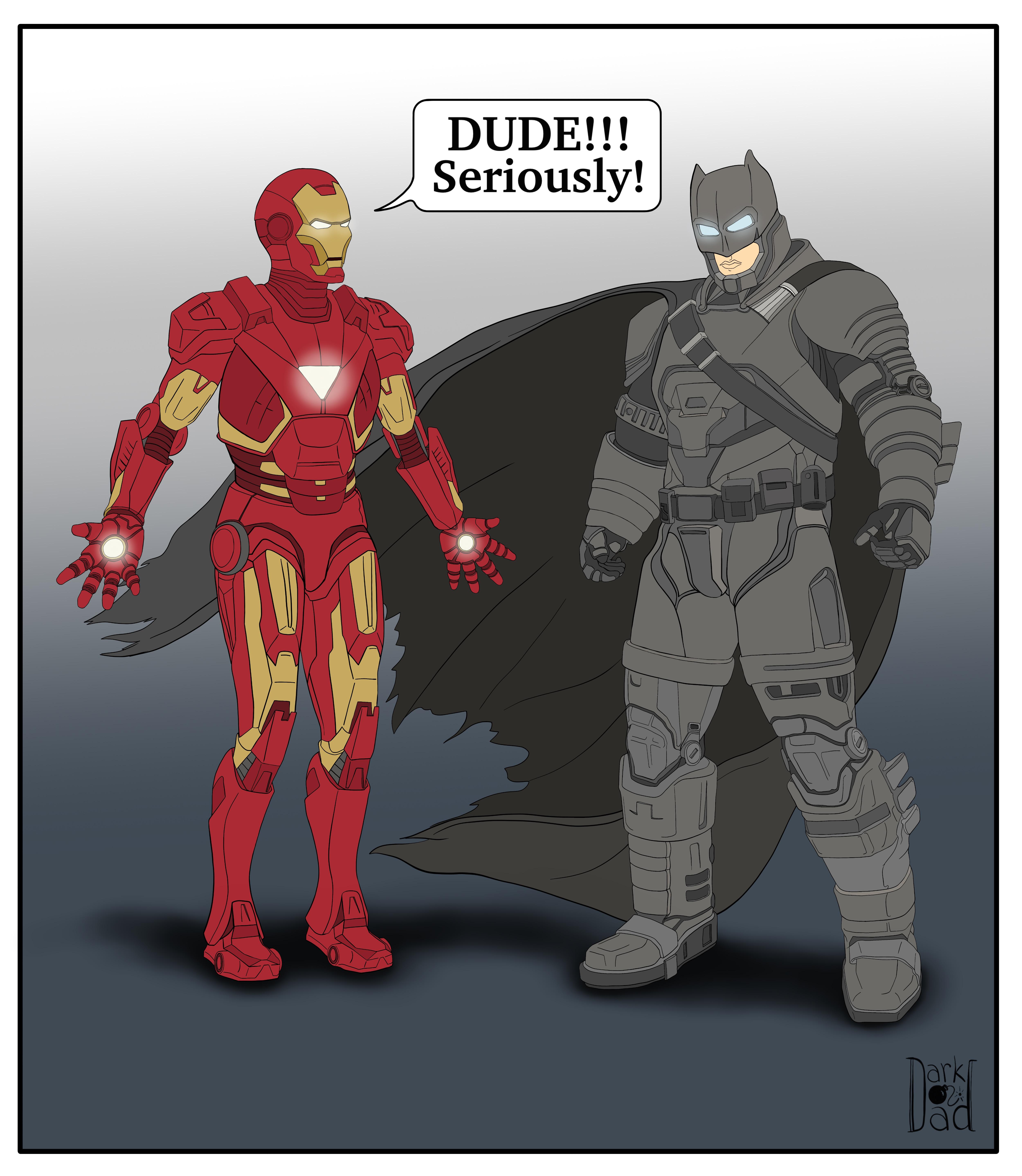 Iron-Batman DD
