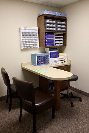 Optometry Exam Room Designs Iod Optical Displays