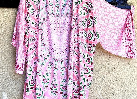 Kimono Rose avec Mandala