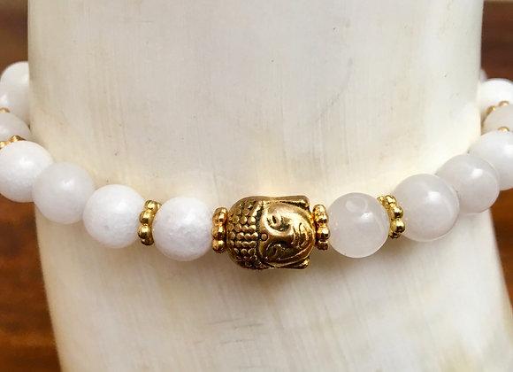 Bracelet Mala Blanc