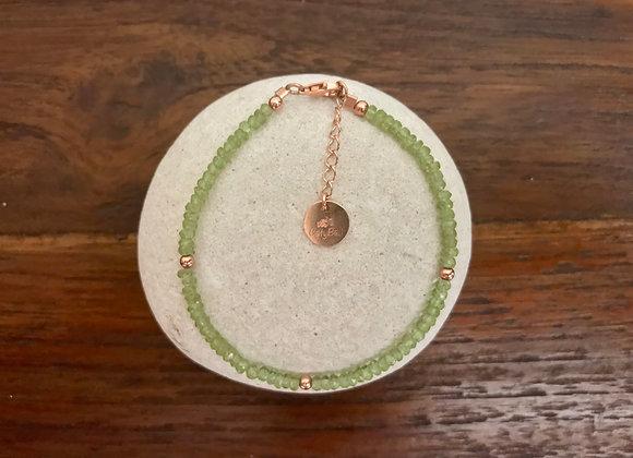 Bracelet Péridot