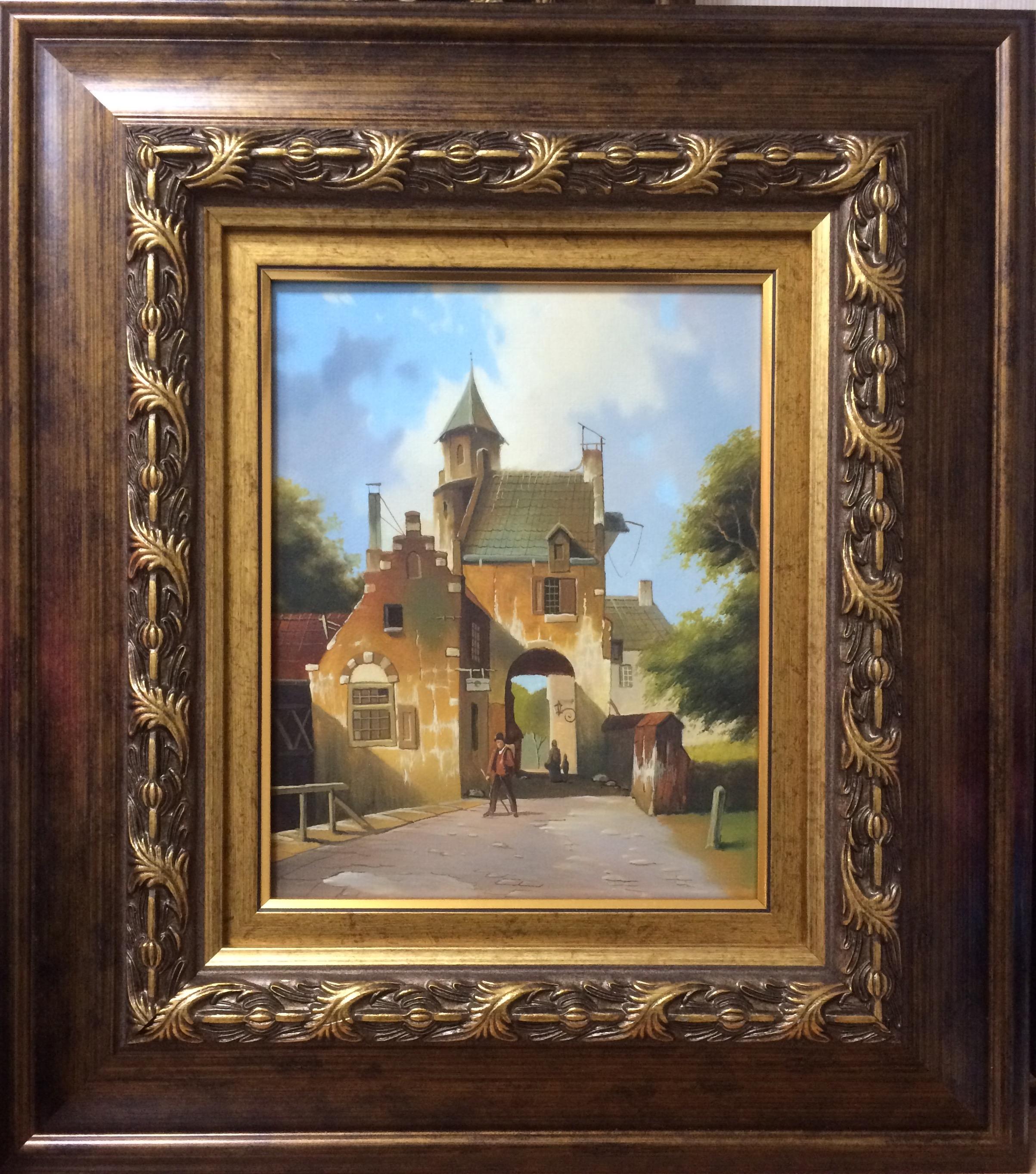 Картина Городские врата