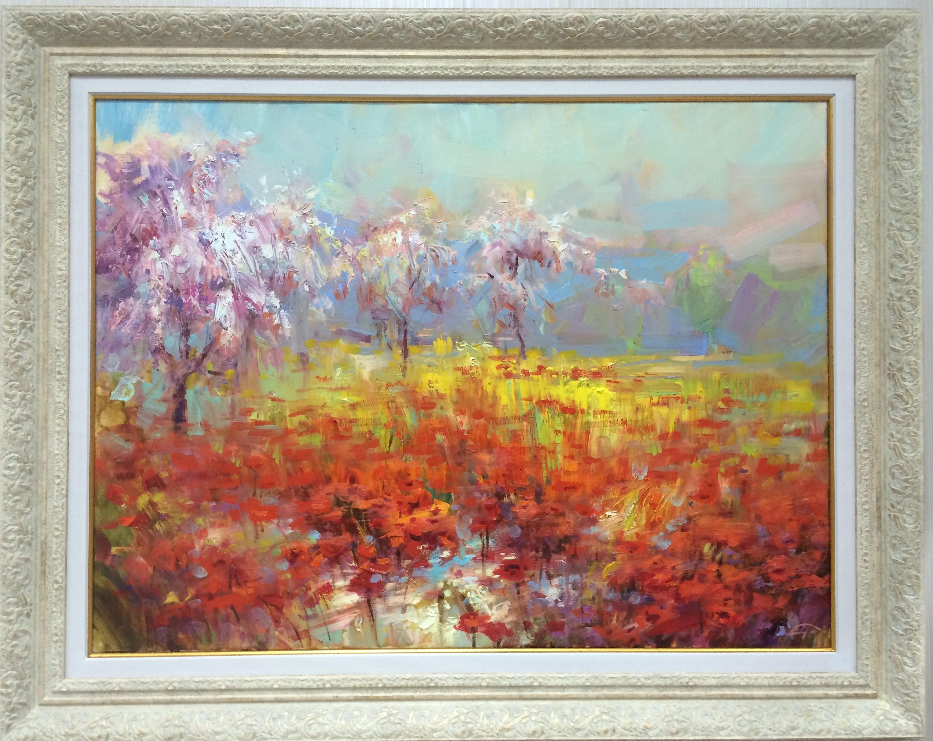 Картина Миндаль в цвету