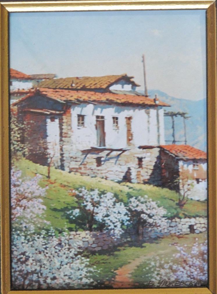 Картина Весна в Крыму