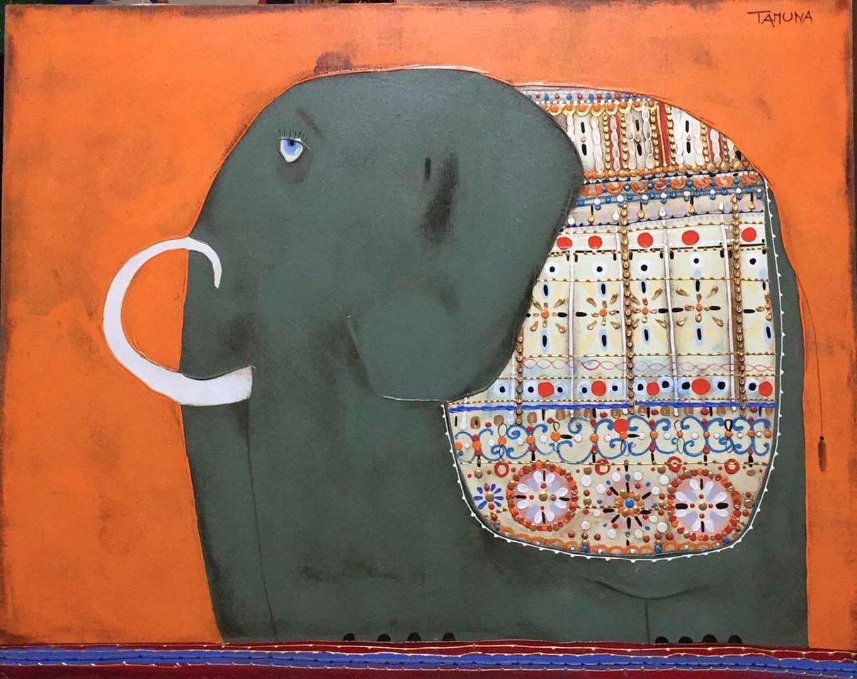 Картина Индийский слоник