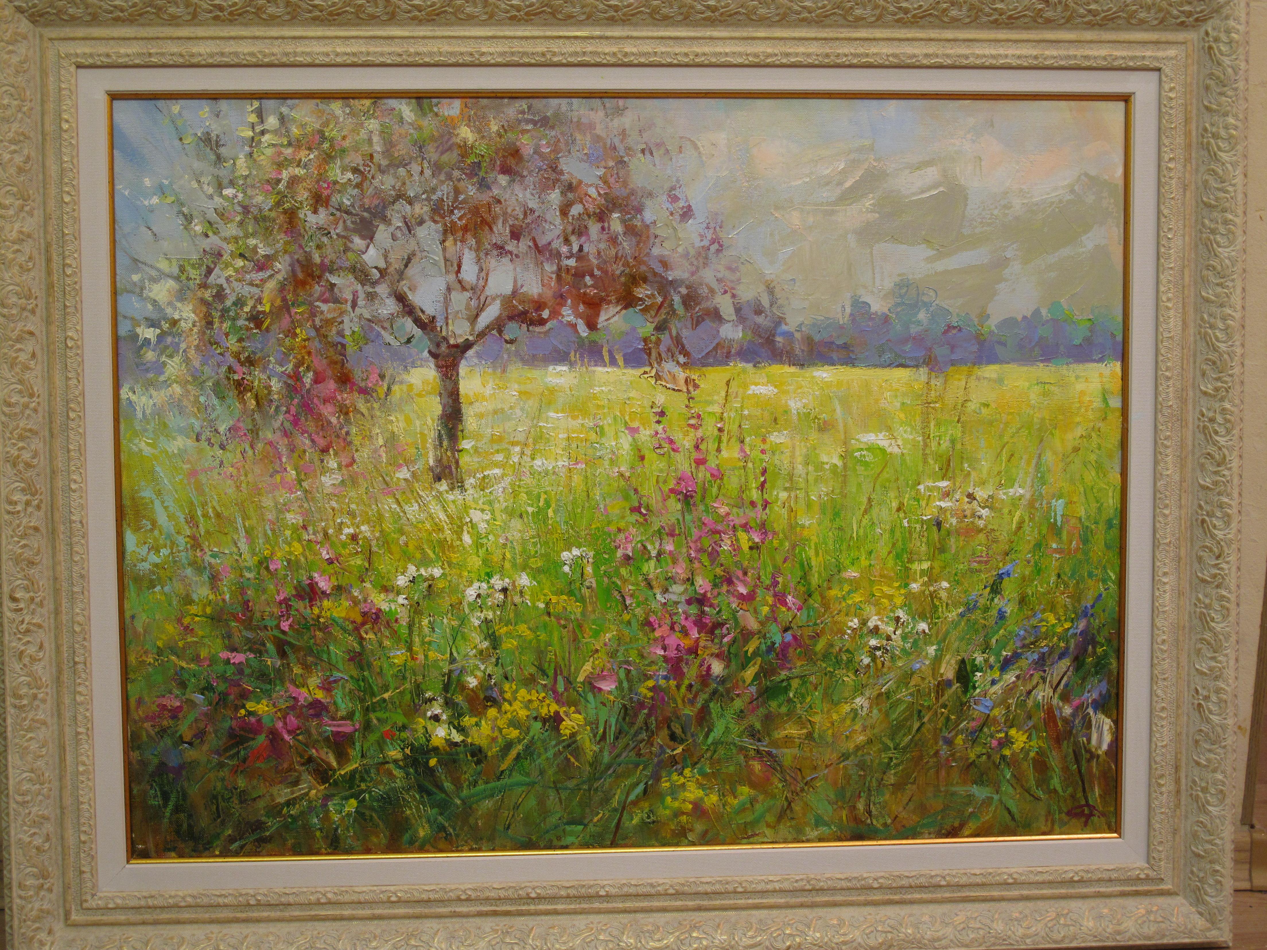 Картина Иван-чай цветет