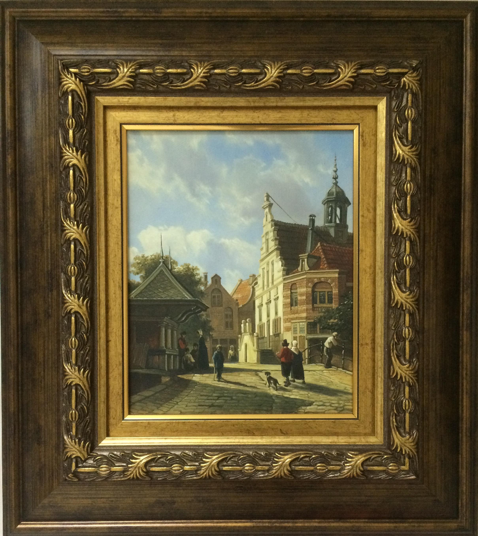 Картина У собора