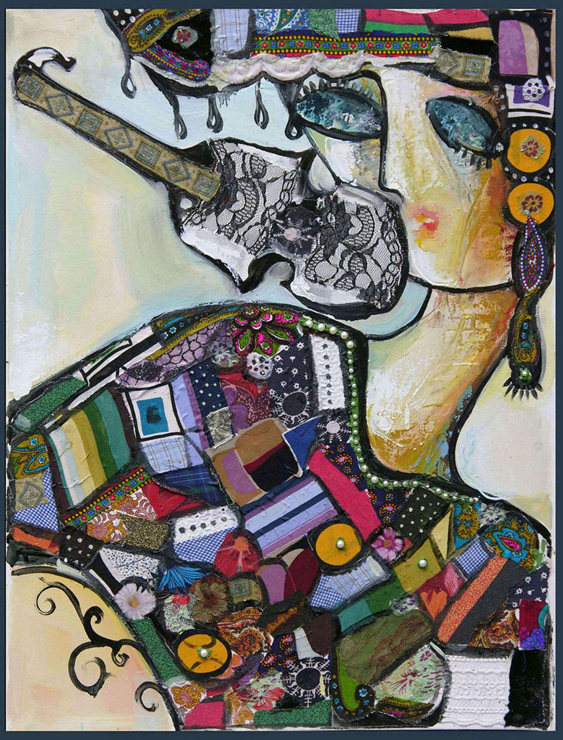 Картина Девушка со скрипкой