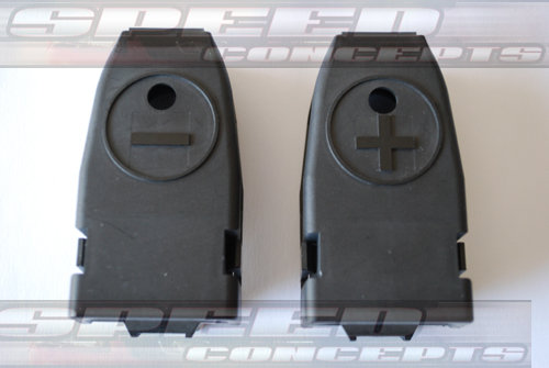 BATTERY TERMINAL SLEEVE SET (POS & NEG) 1983-2004 MUSTANG/COBRA