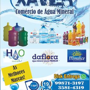 Xavier comércio de água mineral