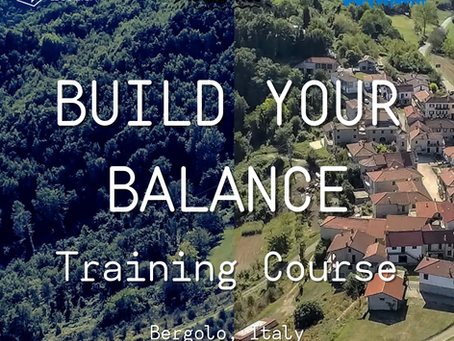 Training Course  in Italy 🇮🇹 - Build Your Balance