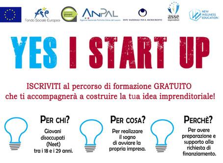 Yes I Start Up - 1° edizione online