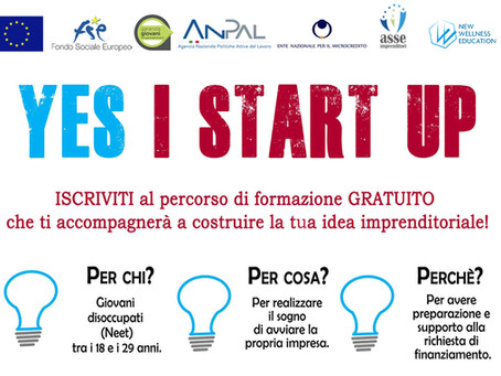 Yes I Start Up - 1° edizione online