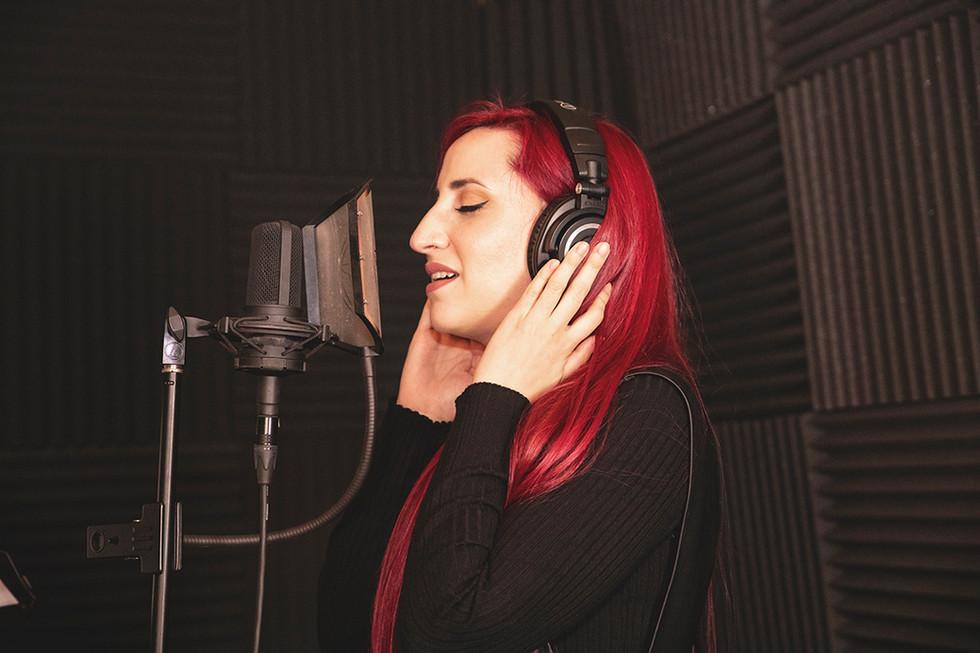 María Barragán (Light Among Shadows) - backing vocals. Recording at Jotun Studio