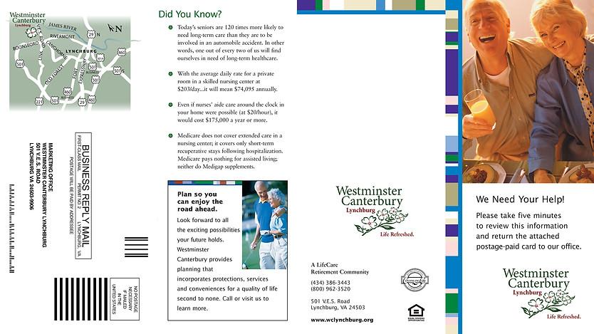 Brochure: Westminster Canterbury