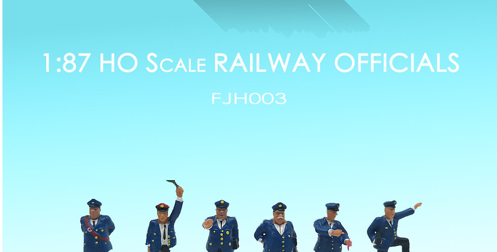 1/87 HO Scale Model Figure set railway officials,方寸景模型人,铁路工人模型,model railway/railroad/train layouts and scenes