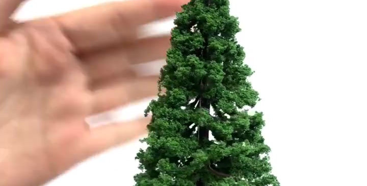 2 PCS/PACK Realistic Model Pine Trees PT1114000