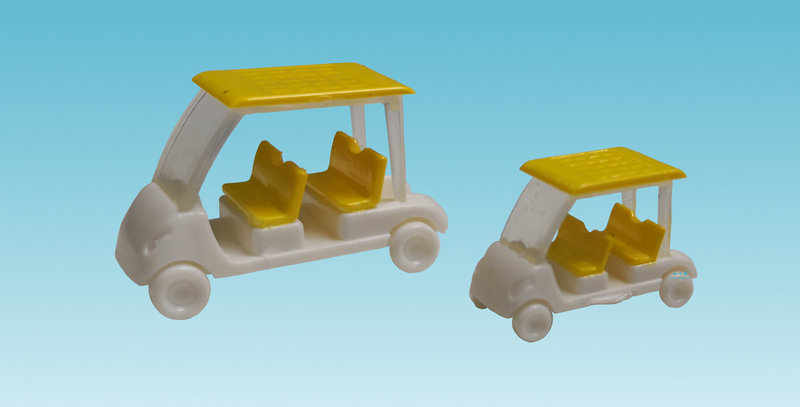 1/87 HO Scale Model Golf Cart