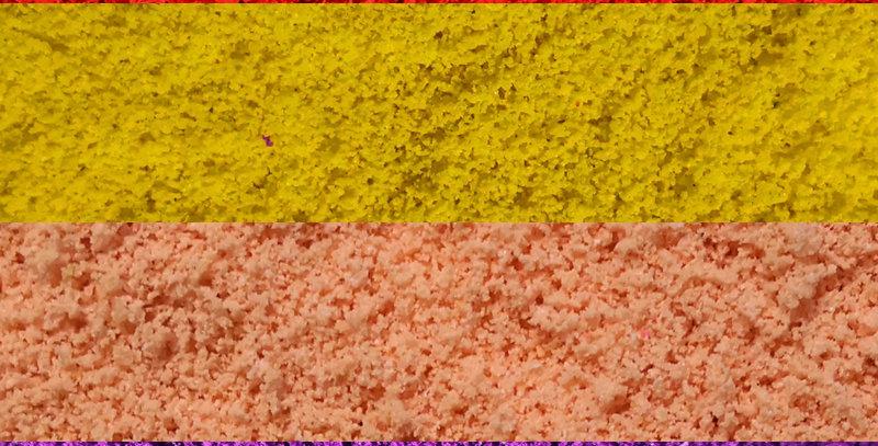 0.8-1.0mm 960ml Coarse turf, Ground sponge Flowers material