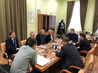 Общественный совет при департаменте внешних связей продолжит активную работу в 2019 году