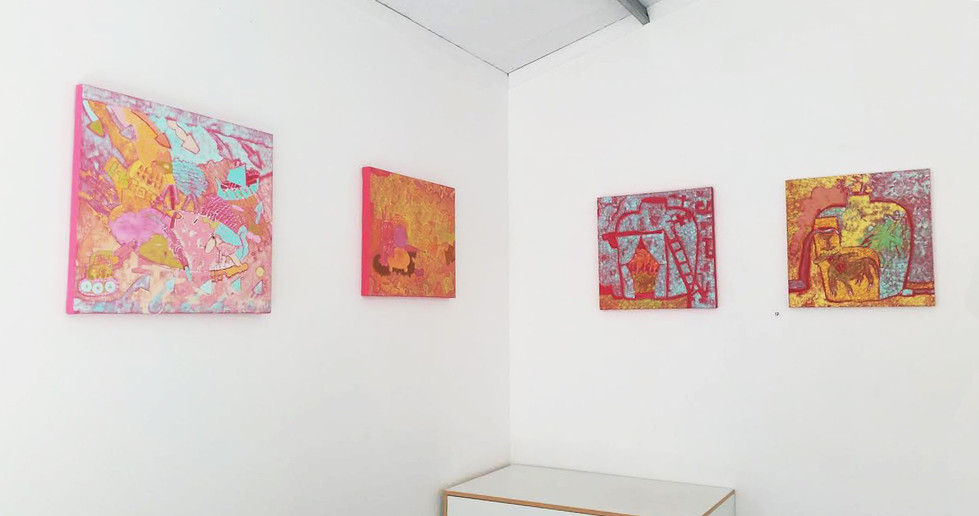 Diana Halstead, Recent Paintings, April 2020