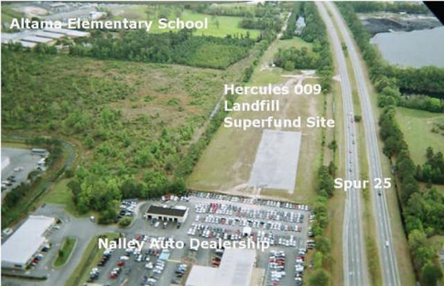 Hercules 009 Landfill Superfund Site