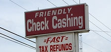 Check Cashing Tax Refund Panama City Beach