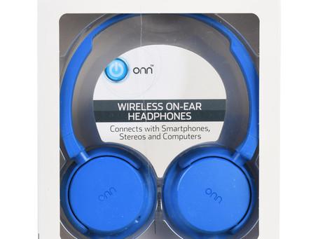 ONN Wireless On-Ear Headphones