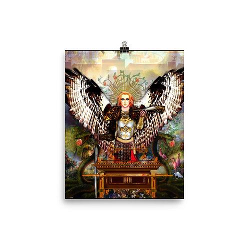 Archangel Gabriel - Photo paper poster