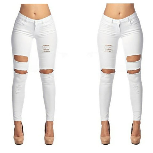 white-distressed-jeans