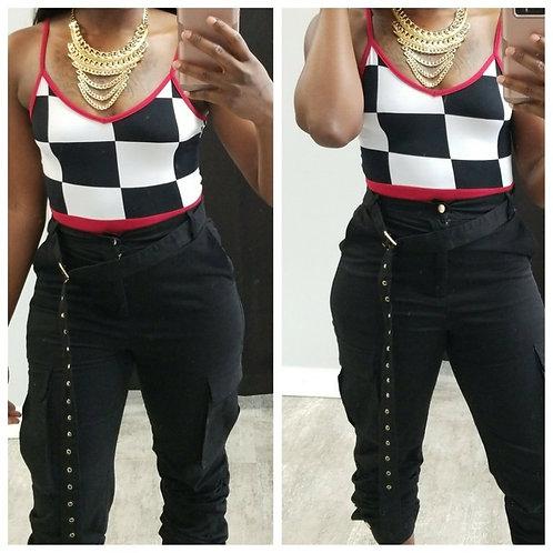 checker-bodysuit