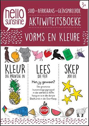 Vorms & Kleure Activity Book